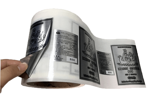 Wet Strength Metallized Paper For Self Adhesive Label