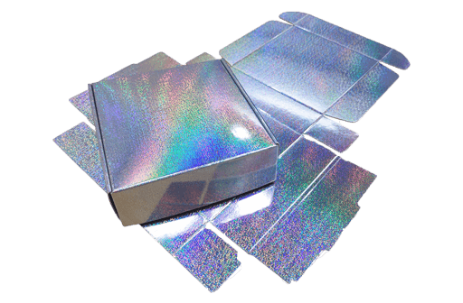 Non Wet Strength Holographic Metallized Paper